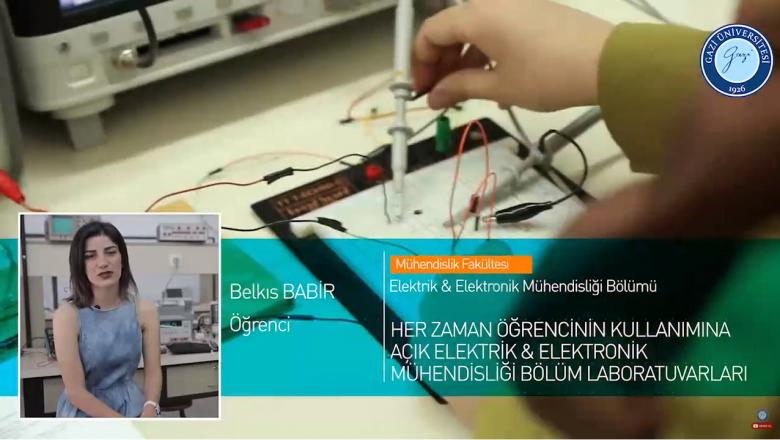 Gazi Üniversitesi Teknoloji Fakültesi Elektrik&Elektronik Mühendisliği Bölümü Tanıtımı