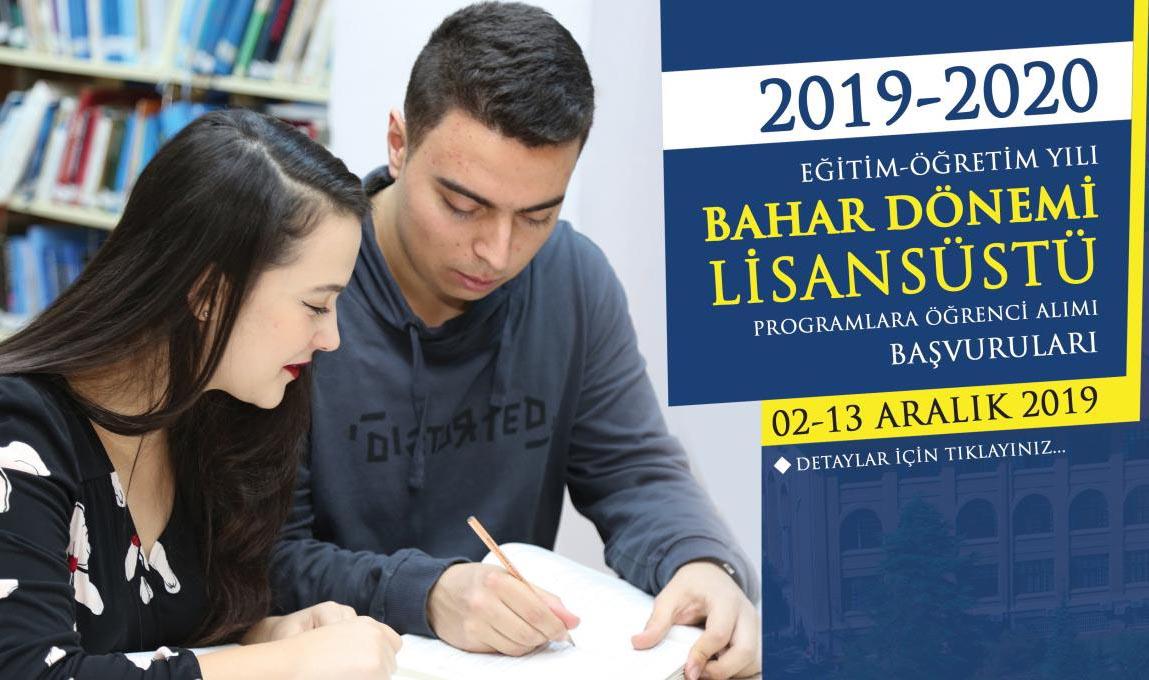 Gazi Üniversitesi Yüksek Lisans Başvuruları | Şartları